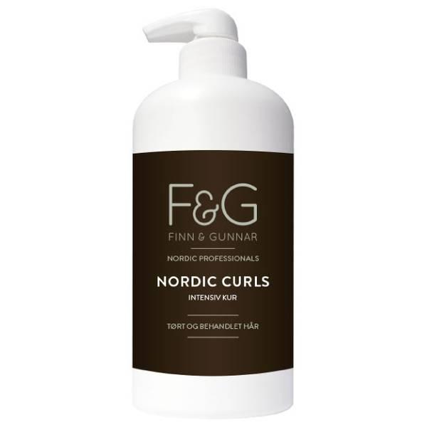 Bilde av F&G Nordic Professionals Curls Intensiv Kur 900