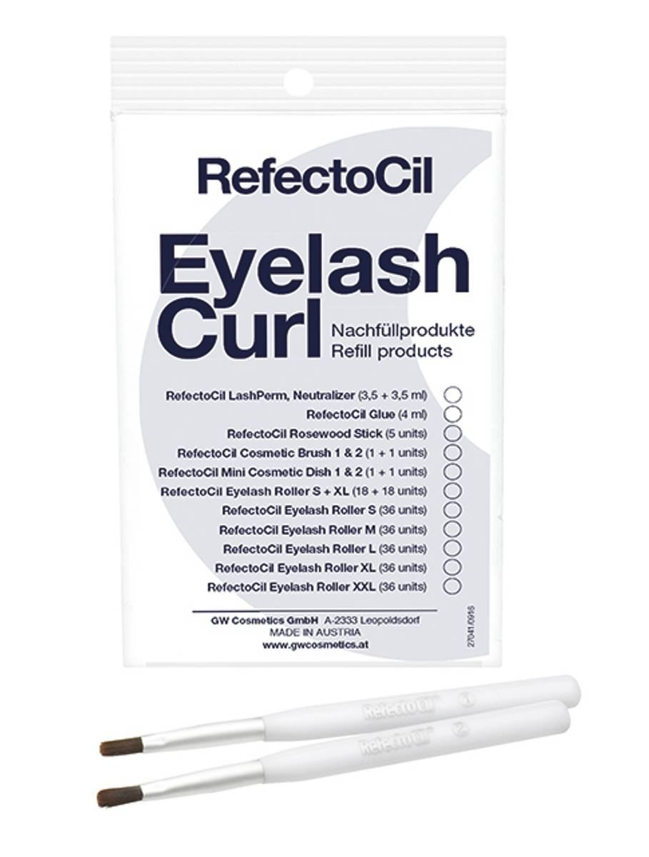 RefectoCil Eyelash Curl/Lift refill cosmetic brushes