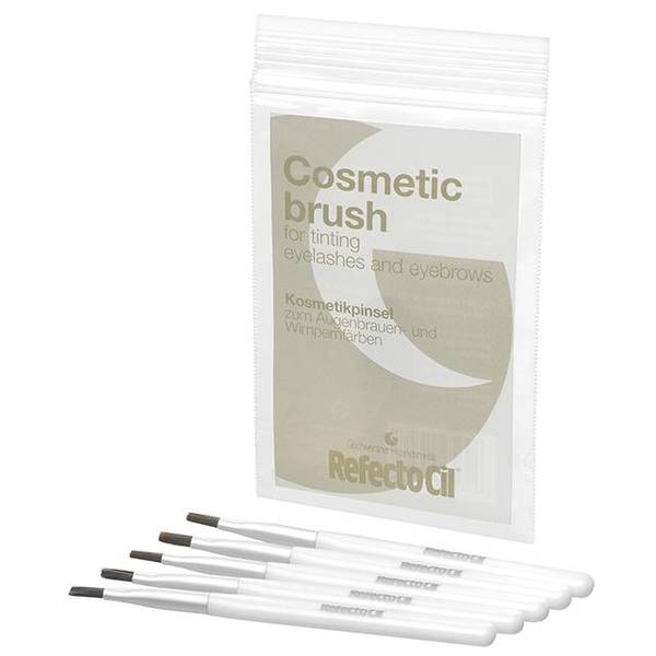 Bilde av RefectoCil Cosmetic brush soft/silver 5 pack
